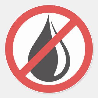 Bumper Sticker - No More Oil