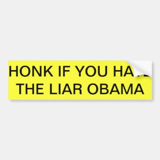 Bumper Sticker obama haters and proud of it! Car Bumper Sticker