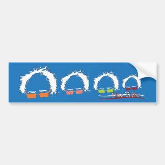 Bumper Sticker - Our Tribe Bernie Family