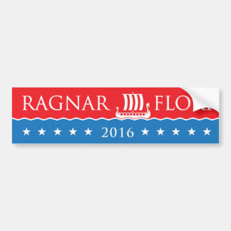 Bumper Sticker: Ragner / Floki / 2016 Bumper Sticker