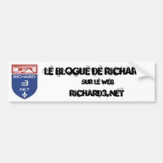 Bumper sticker Richard3 net Autocollants Pour Voiture