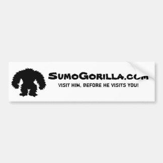 Bumper sticker-SumoGorilla.com Bumper Sticker