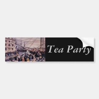Bumper Sticker : Tea Party
