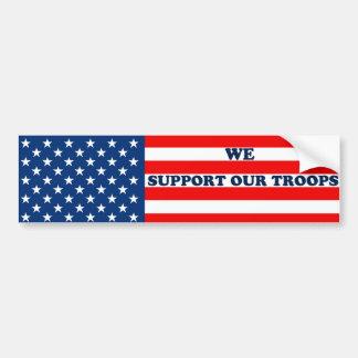 Bumper Sticker Troops
