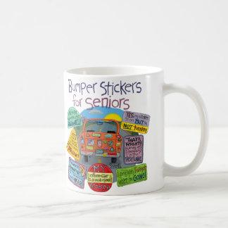 Bumper Stickers for Seniors Coffee Mug