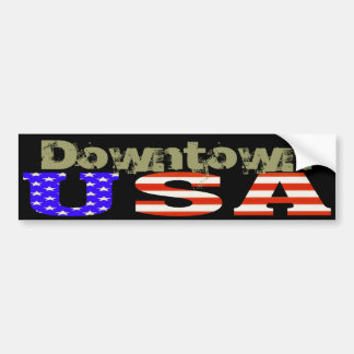 Bumpers USA Customized, Downtown Bumper Stickers