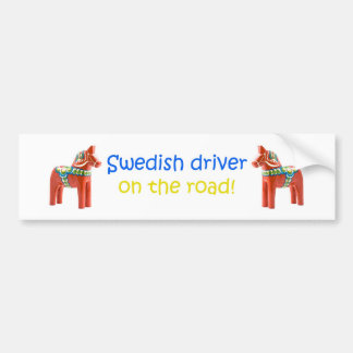 BumperSticker for Swedes. Bumper Sticker