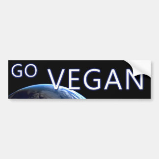 bumpersticker-VEGAN2 Bumper Sticker