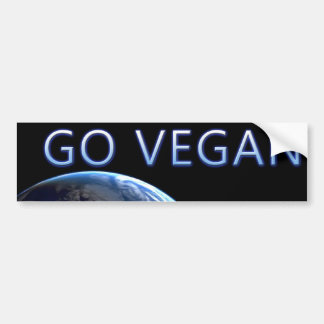 bumpersticker-VEGAN4 Bumper Sticker
