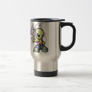 bumping Alien Travel Mug