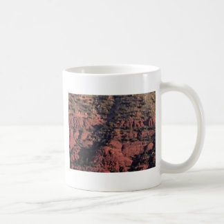 bumps and lumps in red rock coffee mug