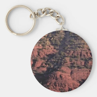 bumps and lumps in red rock key ring