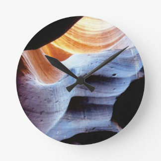 Bumps and lumps in the rocks round clock