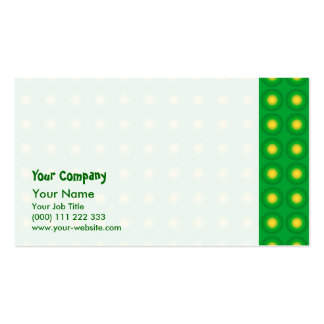 Bumpy green pattern pack of standard business cards