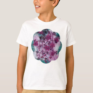 bumpy stained glass blooms T-Shirt