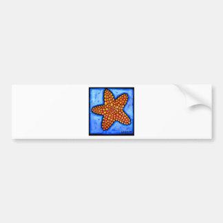 Bumpy Starfish Bumper Sticker