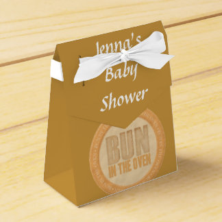 Bun in the Oven Baby Shower Favor Box