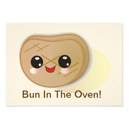 Bun In The Oven! Baby Shower Invitation