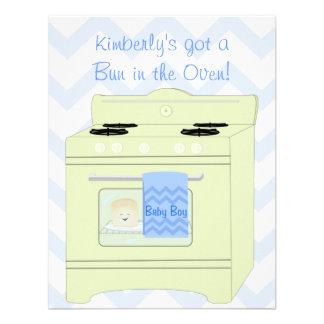 Bun in the Oven Boy Announcements