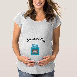 Bun in the Oven [Boy] Maternity T-Shirt