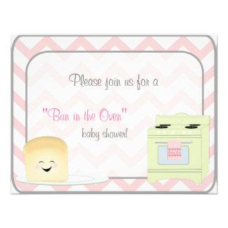 Bun in the Oven Girl Invitation
