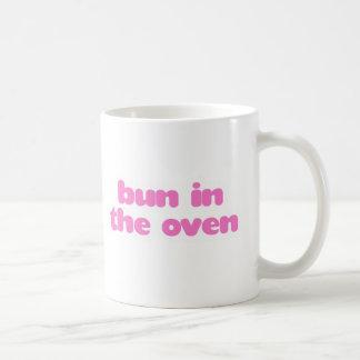 Bun In the Oven - Pink Coffee Mug