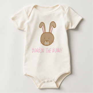 Bunbun the Bunny - Baby Natural Bodysuit