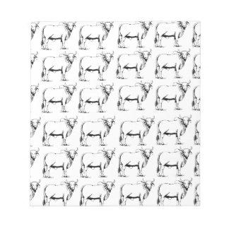 bunch of bad bulls notepad
