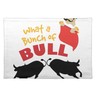 Bunch Of Bull Placemat