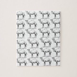 bunch of camels herd jigsaw puzzle