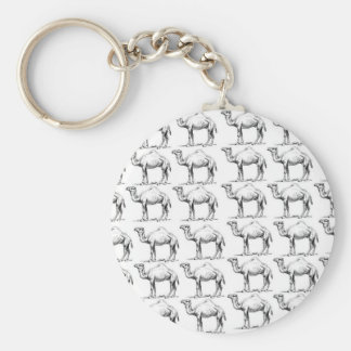 bunch of camels herd key ring