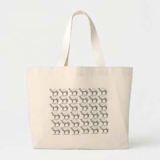 bunch of camels herd large tote bag