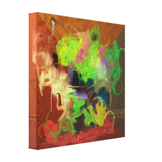 Bunch of Color Canvas Print