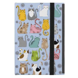 Bunch of Cute and Fun Cats Powis iPad Mini Case