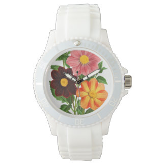 Bunch Of Dahlias Watch