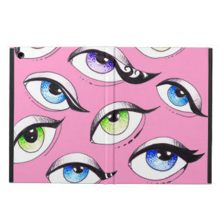 Bunch Of Eyes Pink Case For iPad Air