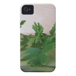 Bunch of fresh parsley on the table Case-Mate iPhone 4 cases