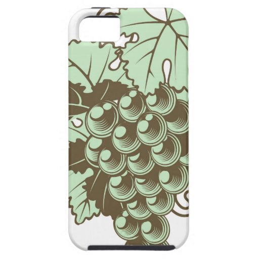 Bunch of Grapes on Vine iPhone 5 Covers