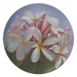 Bunch of Plumeria Plate