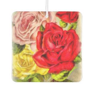 Bunch Of Roses Watercolor