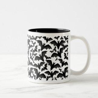 Bunch of Vampire Bats Halloween Mug