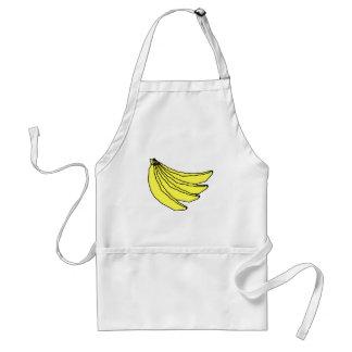 Bunch of Yellow Bananas. Standard Apron