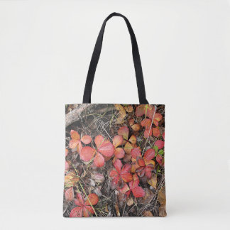 Bunchberry in Autumn #2 Tote Bag