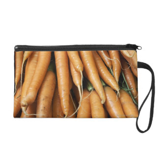 Bunches of carrots wristlet clutches