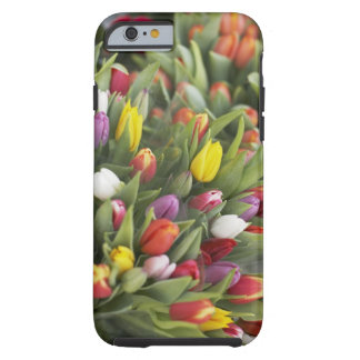 Bunches of colorful tulips tough iPhone 6 case
