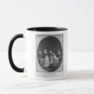 Bunches of flowers or celebrating grandmother mug