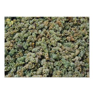 Bunches of green grapes, Austria 13 Cm X 18 Cm Invitation Card
