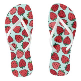 Bunches of Strawberries - Flip Flops