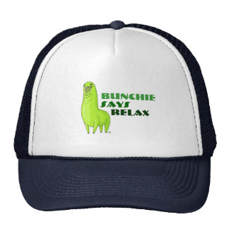 Bunchie says RELAX Mesh Hat