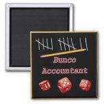 Bunco Accountant Fridge Magnets